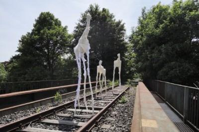 """""""Die Herde"""" - Arbeit von Anders Prey 2012/13 Basisklasse Gutmann"""